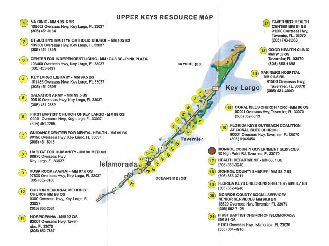 Upper Keys Resource Map