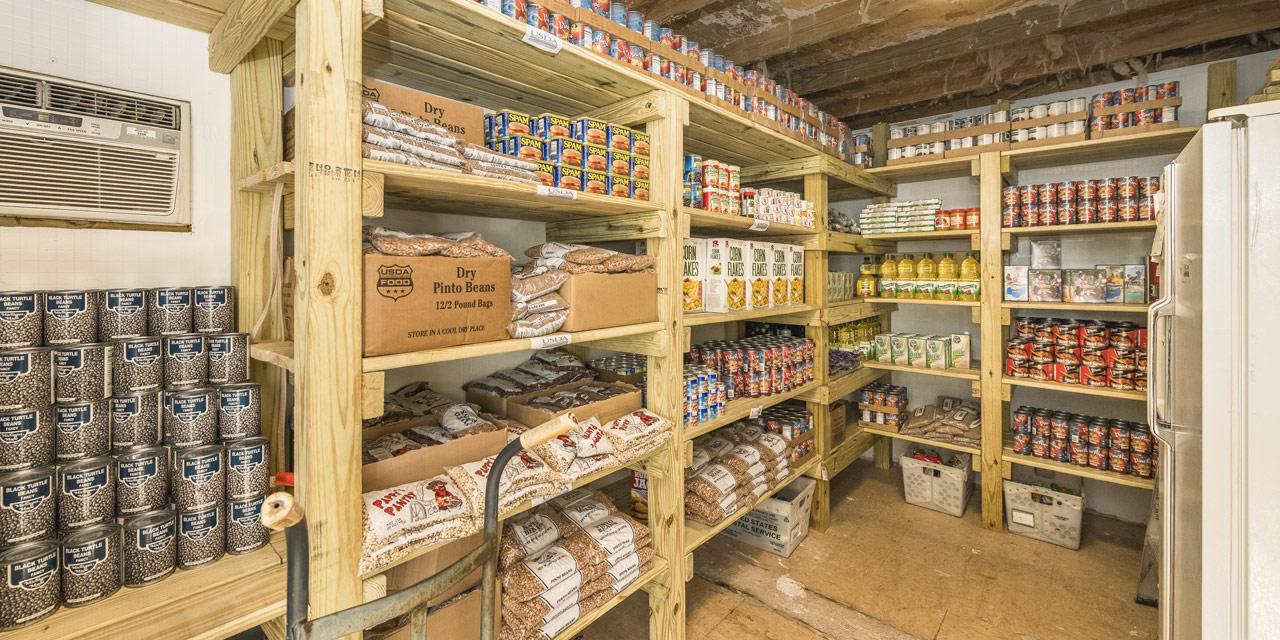 FKOC food storage room